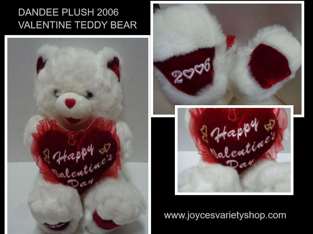 Dan dee 2006 valentine teddy bear collage 2017 01 28