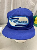 trucker hat baseball cap Vintage Snapback Mesh Patch West Agro Westagro Farm Ag - $49.99