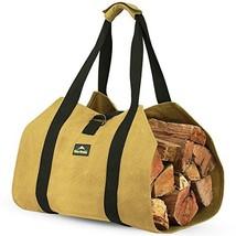 ForestWonder Firewood Carrier Log Carrier Wood Carrying Bag for Fireplac... - $40.01