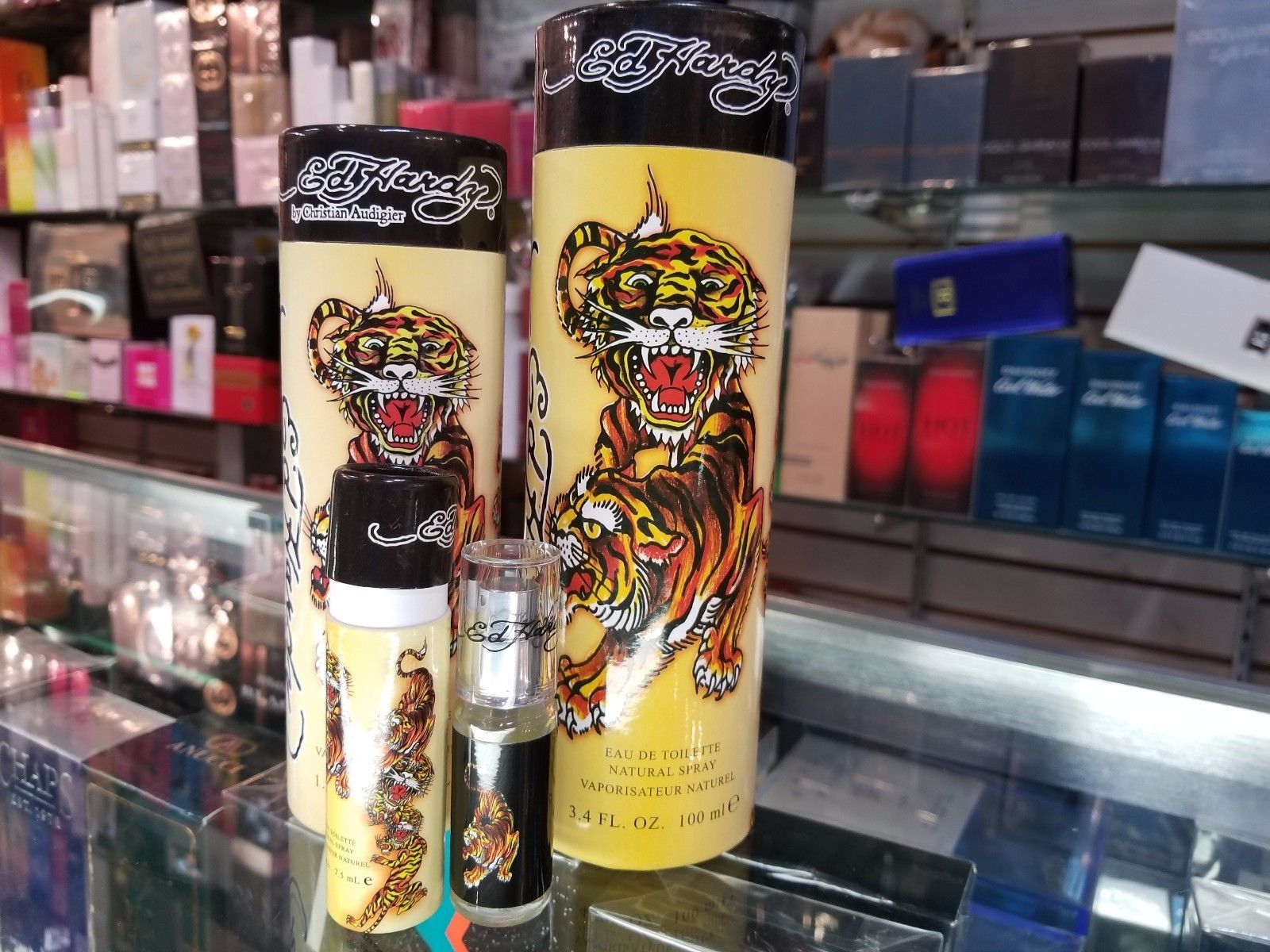 ED HARDY by Christian Audigier .25 1.7 3.4 oz for Men Cologne BRAND NEW IN CAN - $30.24 - $64.12