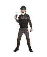Boy Skull Commando Medium Halloween Dress Up / Role Play Costume - Small - $19.40
