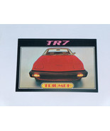 1976 Topps Autos of 1977 #84 Triumph TR7 Sports Car Card VG-EX Condition - $14.83