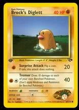 Pokemon Card 1st Edition Brock's Diglett (67/132) Gym Challenge Common ***NM*** - $1.85