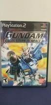 Mobile Suit Gundam: Encounters in Space (Sony PlayStation PS2, 2003) Game - $16.82
