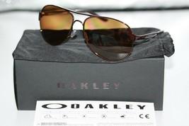 Oakley Caveat POLARIZED Sunglasses OO4054-05 Brunette Frame W/ Bronze Ir... - $65.13