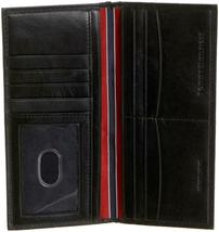 Tommy Hilfiger Men's Leather Secretary Checkbook ID Wallet Organizer 31Tl19X014 image 4