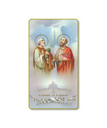 St. Peter and Paul Blank Holy Card Religious Card 100-Pack - $34.99