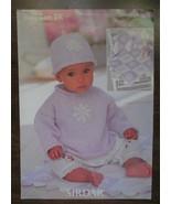 baby knitting pattern book, Knit Baby Care pattern, baby sweater hat bla... - $7.50