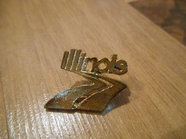 Old or Vintage Illinois Highway Road Interstate Pin Lapel or Tie Tack So... - $10.00
