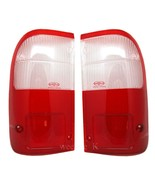 REAR TAIL LIGHT LENS LENSES FOR TOYOTA HILUX TIGER MK4 98-04 WHITE/RED C... - $29.60