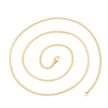Fashion Stainless Steel Link Curb Chain Necklace Gold & Rose Gold Trendy For Wom - $9.43