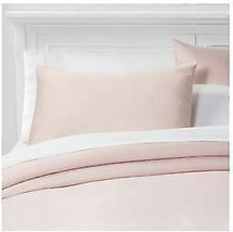 Threshold Performance Solid Duvet & Sham Set, Pedal Pink , Twin/XLT image 1