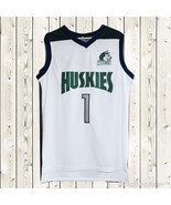 Lamelo Ball #1 Huskies Basketball Stitched Jersey High School Throwback ... - $25.49