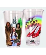 The Wizard of Oz Cast of 4 & Shoes Images 20 oz Acrylic Cup Set of 2, NEW UNUSED - $17.41