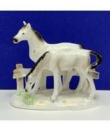Horse figurine Lipper Mann Japan 33/57 made porcelain statue sculpture p... - $168.25