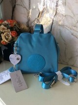 Kipling IMMIN mini bucket bag handbag and shoulder bag new Emerald Color - $80.00