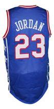 Michael Jordan #23 McDonald's All American Basketball Jersey New Blue Any Size image 2