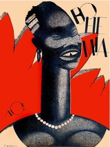 7028.Retro Black woman with gap in teeth smiles.POSTER.art wall decor - $10.89+