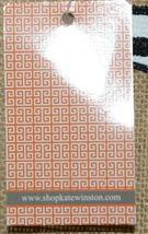 Kate Winston Brand Brown Burlap Monogram Black White F Garden Flag image 5