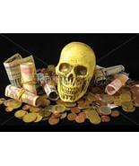 MONEY SPELL, voodoo, hoodoo money, real magic wealth prosperity powerful voodoo - $29.97