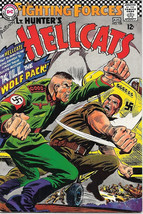 Our Fighting Forces Comic Book #108 Hunter's Hellcats, DC Comics 1967 FINE+ - $21.20