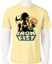 Iron fist dri fit graphic tshirt moisture wicking superhero comic book spf tee thumb200