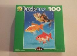 PuzzleBug Cra-Z-Art Gold Fish Trio Friends Jigsaw Puzzle 100 Pieces New - $9.89