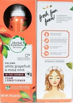 2 Herbal Essences Volume White Grapefruit & Mosa Mint In-Shower Foam Conditioner - $20.99