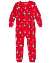Family Pajamas Matching Elf One-Piece (Red, 4) - $19.99
