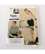 Vogue Career 2033 Sz 12 14 16 Vogue Career Office Blouse Top Uncut Pattern - $14.99