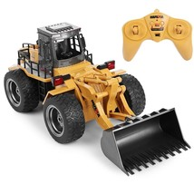 Toy RC Remote Control 2.4G Big Dump Truck Functional Bulldozer Construct... - $38.99