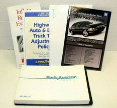 2004 Buick Park Avenue Vinyl Case With Owners Manual Warranty Assistance... - $29.70