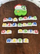 LeapFrog Fridge Phonics 24 Alphabet Letters + Electronic Scout Dog Base - $16.04