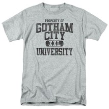 BATMAN PROPERTY OF GCU  T-SHIRT Gotham superhero 100% cotton graphic tee BM1952 image 1