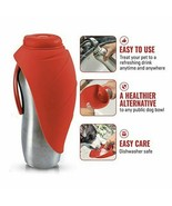 Tuff Pupper Pupflask Portable Water Bottle & Bowl for Dogs -- 27oz -- Re... - $34.74