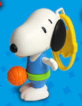 SNOOPY The Basketball Player Peanuts McDonalds Happy Meal Toy #7 NEW - $4.25