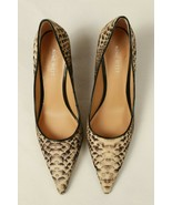 Nine West Pumps Womens 6 M Snake Animal Print High Heels Pointed Cloth S... - $24.75