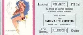 THOMPSON-1940s-TECHNIQUE HAS A...-INK BLOTTER - $18.62
