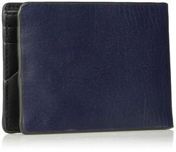 Calvin Klein CK Men's Genuine Leather Slimfold Embossed Logo Wallet 79814 image 7