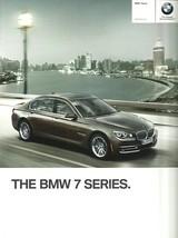 2013 BMW 7-SERIES sales brochure catalog US 13 740 750 760 i Li Active H... - $12.00