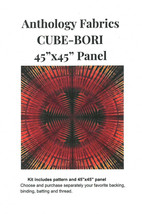 "Fabric Kit - Cube-Bori Anthology Fabrics 45"" x 45"" Panel Quilting Kit M4... - $14.97"