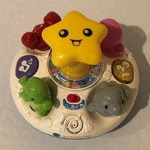 Vtech Spin and Learn Top Numbers Colors Sea Animals Musical Lights Sound Music - $9.99