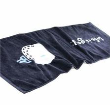 "PANDA SUPERSTORE [BLACK] Cute Golf Cotton Active-Dry Golf/Workout Towel, 12.6"" x"