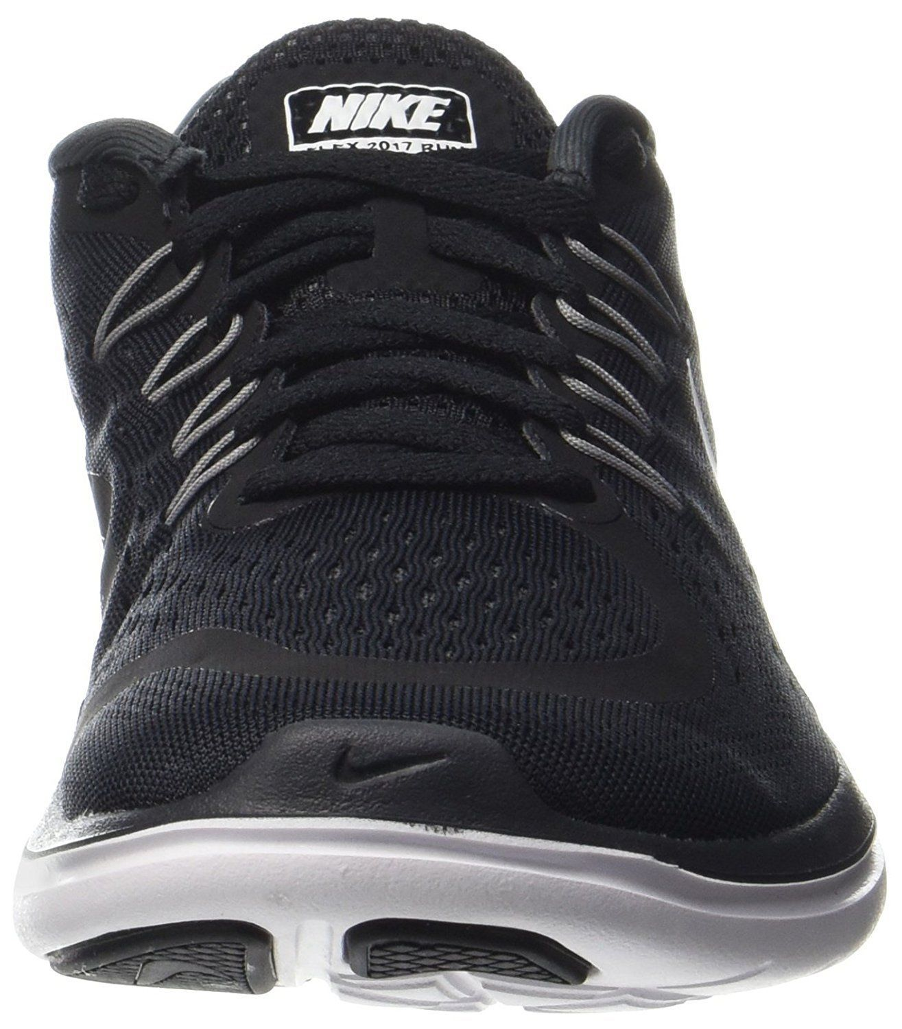 huge selection of a9155 4fa45 ... Nike Flex 2017 RN Sz 10.5 Black White-Anthracite Men s Running Shoes  898457- ...