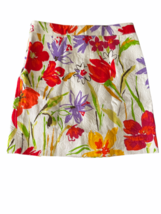 Dolce & Gabbana Charcoal Women Skirt Made in Italy White Red Yellow Orange Small image 5