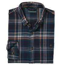 G.H. Bass & Co. Men's Long Sleeve Flannel Plaid Casual Button Up Shirt - M image 2