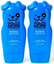 2 Bottles Wags & Wiggles 16 Oz Kiddie Powder Fresh Paraben Free Puppy Sh... - $24.99