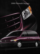 2000 Plymouth GRAND VOYAGER sales brochure catalog US 00 SE - $6.00
