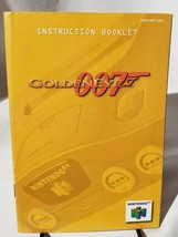 Goldeneye N74 Instructions Manual Nintendo  - $6.89