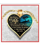Great Idea For Wife gifts Necklace – To My Wife Pendant - My Future Wife... - €17,60 EUR